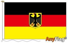 - GERMANY CREST ANYFLAG RANGE - VARIOUS SIZES